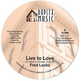 Fred Locks Meets David O - Live to Love